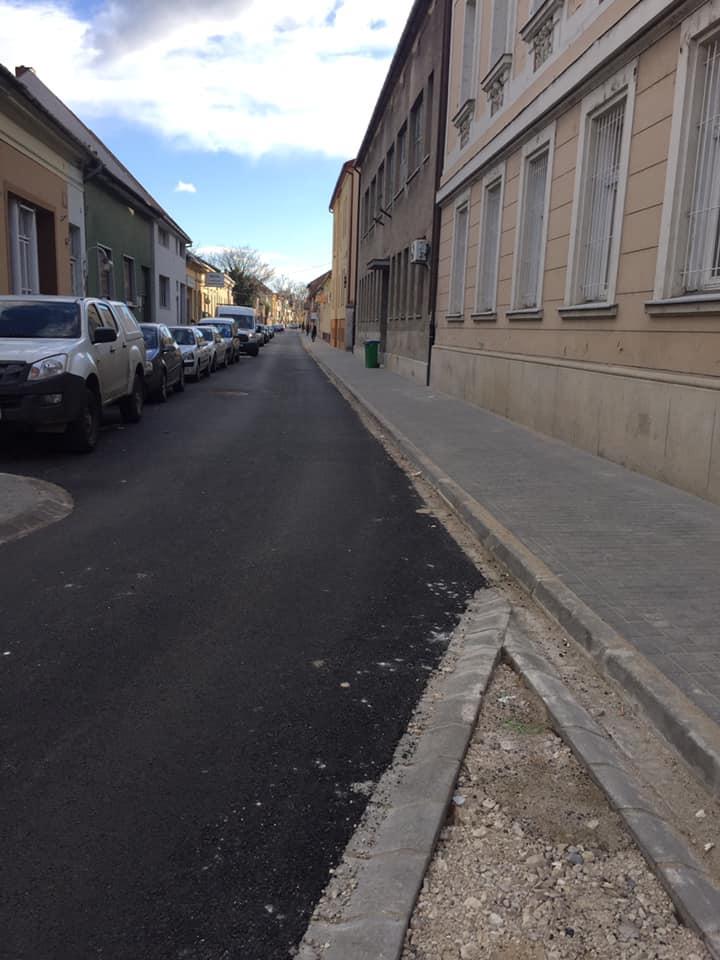 A Kégl György utca újra megnyílt!